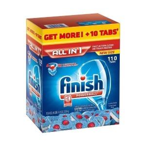 Finish Powerball Tablet Dishwasher Detergent  1...
