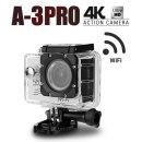 S2J A-3 PRO 4K Wifi 액션캠 /오토바이블랙박스 활용/