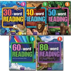 2권 구매시 노트증정/30.40.50.60.80.100.120.150.180.210 Word READING 1.2 레벨선택/워드리딩