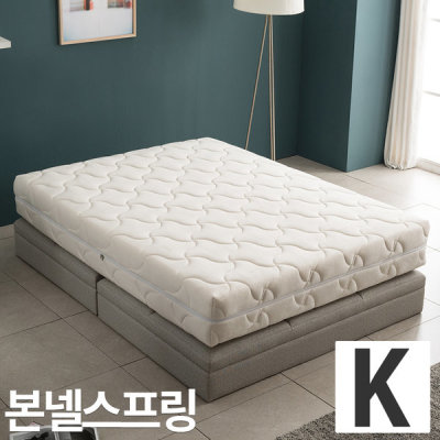 [아씨방] 아씨방가구 벨로아 본넬스프링 침대 킹매트리스 K