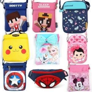 유아 아동 핸드폰 가방 미니 크로스백 어린이 지갑