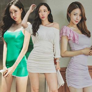 유유존-미니원피스/클럽의상/섹시홀복/롱/나시