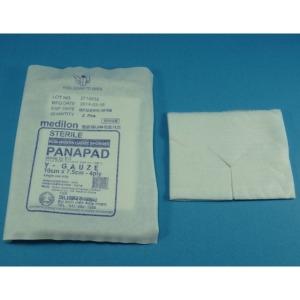 파나메딕 멸균 부직포Y거즈 10x7.5cm-4겹(2매)x100팩