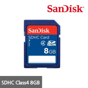 RY 묶음배송 샌디스크 SDHC Class4 SDB 8GB