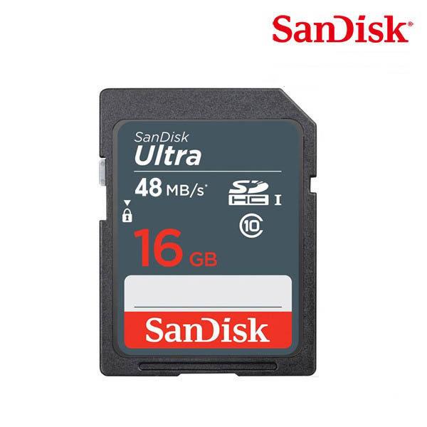 RY 1개특가 샌디스크 SD ULTRA C10  DUNS(80m/s) 16GB