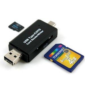 USB3.0 멀티 카드리더기 USBOTG USB3.1 SD메모리 USBC
