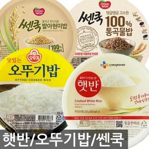 오뚜기밥 햇반 x24개/쎈쿡/발아현미/컵반/컵밥/즉석밥