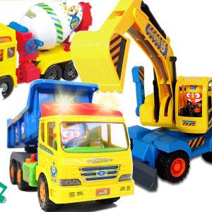 타요장난감 뽀로로자동차 버스 트럭  중장비 포크레인