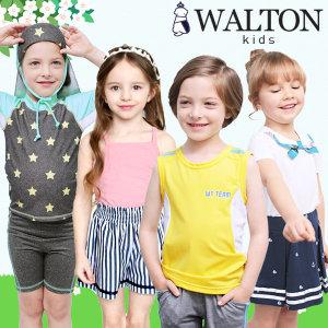 월튼/여름/신상/아동복/상하복/티셔츠/여아
