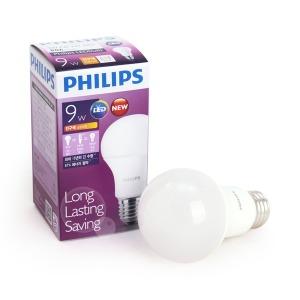 필립스 LED전구 정품 9W/뛰어난 가성비/긴수명