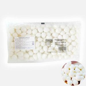 코리원/냉동 미니 모짜렐라치즈 1kg(구슬)/보코치니