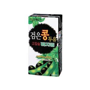 베지밀 검은콩 두유 고칼슘 190ml x 24팩