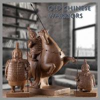 도레미조각상 고대중국전사들 병사 장군 인테리어소품