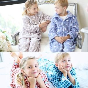 따뜻한 밍크잠옷/수면잠옷/극세사/주니어/여아의류