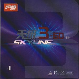 스카이라인3-60 탁구라켓 탁구러버- 루프 드라이브