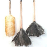 타조털 먼지털이 총채 양모 먼지털이개 타조털이개