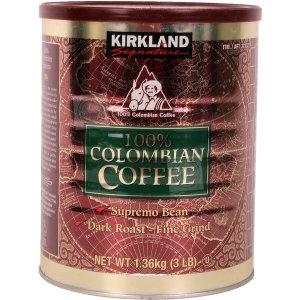 커클랜드 콜롬비아 원두커피 1.36kg/분쇄/코스트코