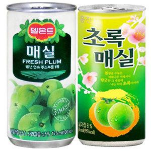 초록 매실 30캔 코카콜라 맥콜 펩시 환타 음료수