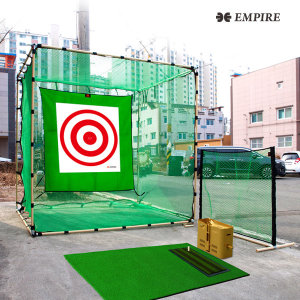 풀세트) 골프연습장 골프네트 실내골프망 골프매트