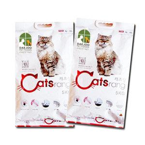 캐츠랑 5kg 2개/10kg/무료배송/대용량사료