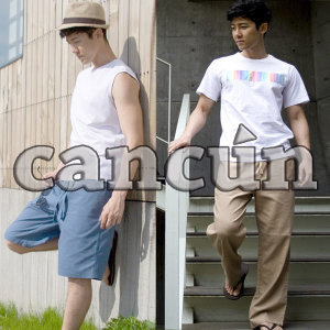 C마바지C 마반바지/린넨/여름/5부/긴바지/허니문룩