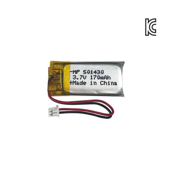 리튬폴리머 MP 501430 3.7V 170mAh