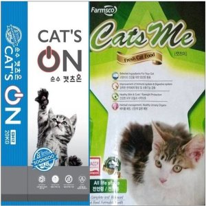 고양이사료  캣츠온 / 캣츠미 / 20kg 대용량 사료