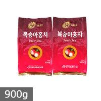 유안 복숭아홍차 900g 자판기믹스 국산차 아이스티