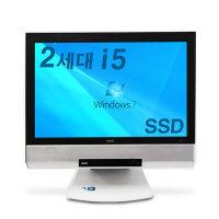 사무 가정용 코어i5 외 중고 올인원 일체형PC 윈도우7