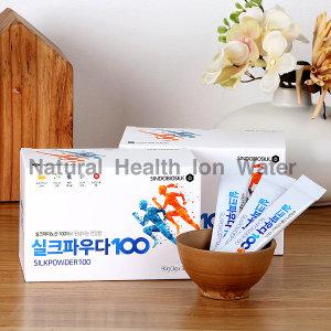 실크파우다100 2박스(60포)/실크아미노산/고급단백질