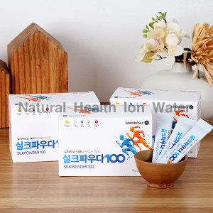 실크파우다100 3박스(90포)/실크아미노산/고급단백질