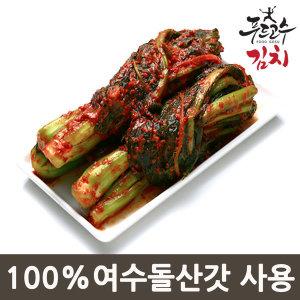 톡쏘는 갓김치2kg/100%여수돌산갓사용/김치/무료배송