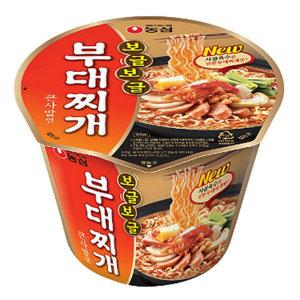 낙타마트/농심 보글보글 부대찌개 큰사발 16컵x2박스