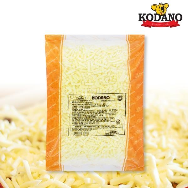 코다노 모짜렐라치즈2.5kg 자연치즈50% 피자치즈
