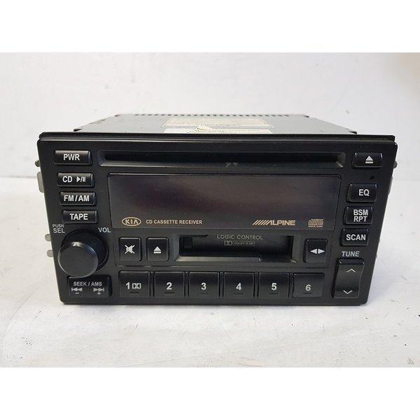 카니발2 쏘렌토 카렌스2 CD 테입 라디오 오디오 데크
