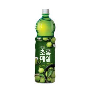 웅진 초록매실 1.5Lx4 매실음료 건강음료