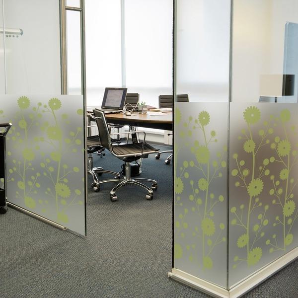 dgcn023-꽃문양 패턴2-무점착 반투명 창문 시트지