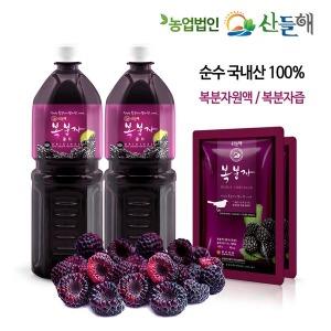 복분자원액 2000ml/무설탕 복분자 100%/복분자즙