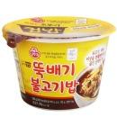 맛있는 오뚜기 컵밥 뚝배기불고기밥 290g