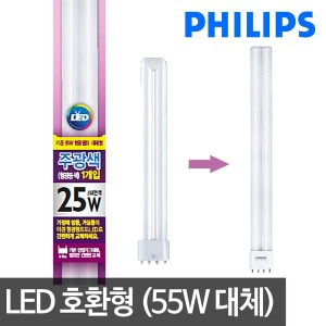 필립스 LED형광등 25W LED전구 LED방등 LED거실등