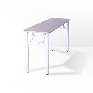 밀키 절탁자 접이식 다용도 테이블 책상