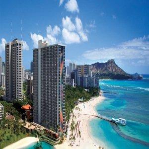 |10프로 카드할인| 호놀룰루(HI)호텔 힐튼 하와이안 빌리지