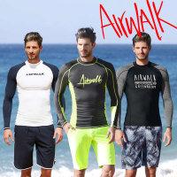 (현대Hmall)에어워크서프 남성래쉬가드세트 티셔츠+트렁크 모음B /레쉬가드/래시가드/수영복/남성비치웨어