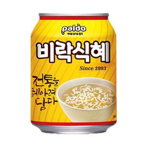 팔도 비락 식혜 238ml x 12캔 / 음료수 청량음료