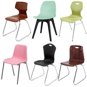 고정형 학원 의자 시리즈 모음