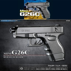 No40/Mini G26C 에어건/BB총/비비탄총/비비총