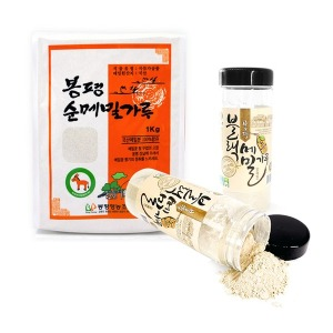 봉평100%순메밀가루1kg/블랙(쓴)메밀가루250g/국내산