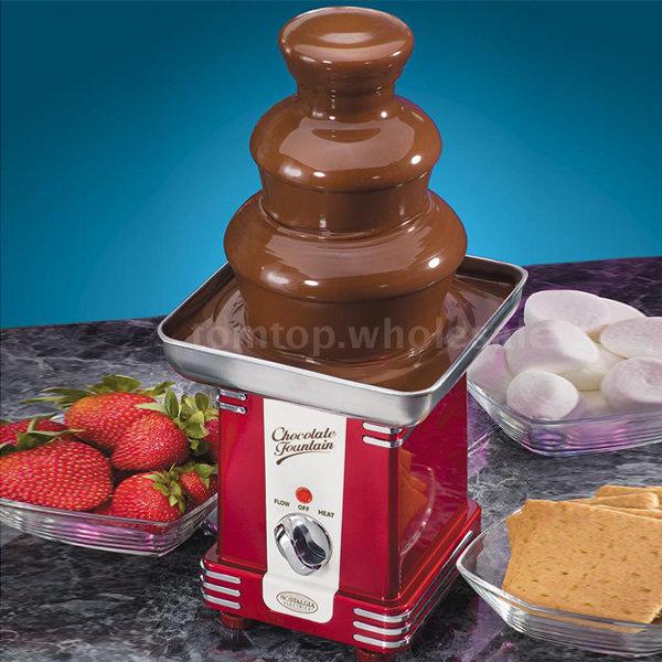 노스탤지어 초콜릿 팝콘 솜사탕 폰듀 분수기계