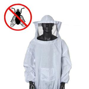 해충 방충복/방충모자/모기장옷/양봉/벌초/차단/야외