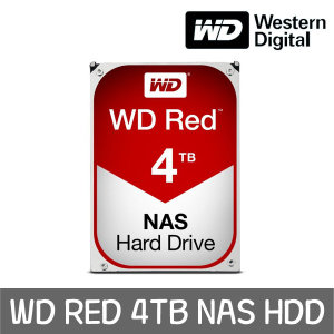 WD RED 4TB NAS HDD WD40EFRX +WD正品 공식판매점+